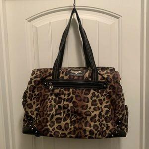 Kathy Van Zeeland Leopard/Cheetah Carryon Luggage
